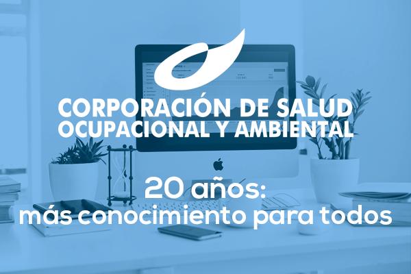 Corporación de Salud Ocupacional 20 años