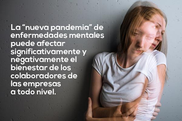 la pandemia del Covid-19 abra paso a una creciente ola de trastornos de la salud mental