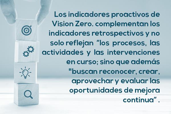 Beneficios indicadores Vizion Zero